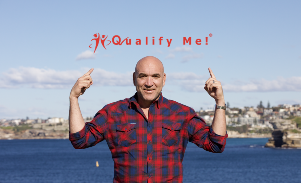 Gorden Tallis is also an ambassador at Qualify Me!, an organisation that teams up with Registered Training Organisations (RTO) to fast track your career change.
