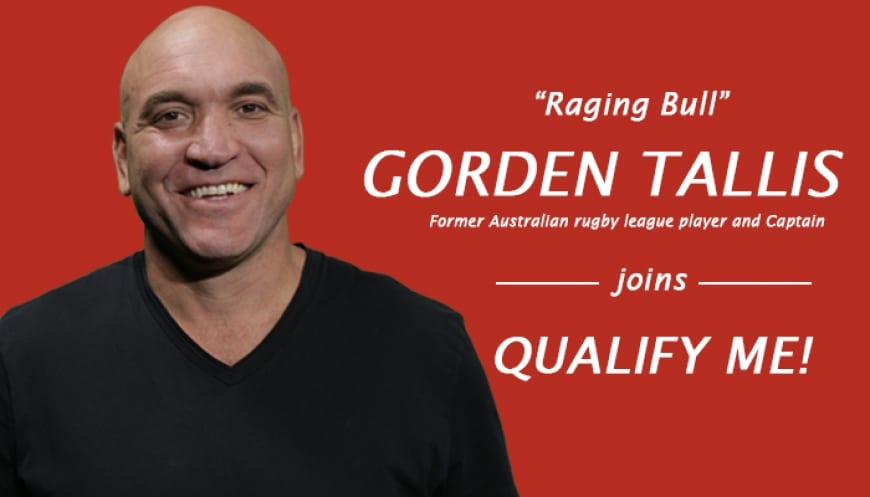 Qualify Me! would like to introduce our new company ambassador, Gorden Tallis!